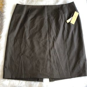 Alex Marie Skirts - Alex Marie - Olive Green/Brown Pencil Skirt
